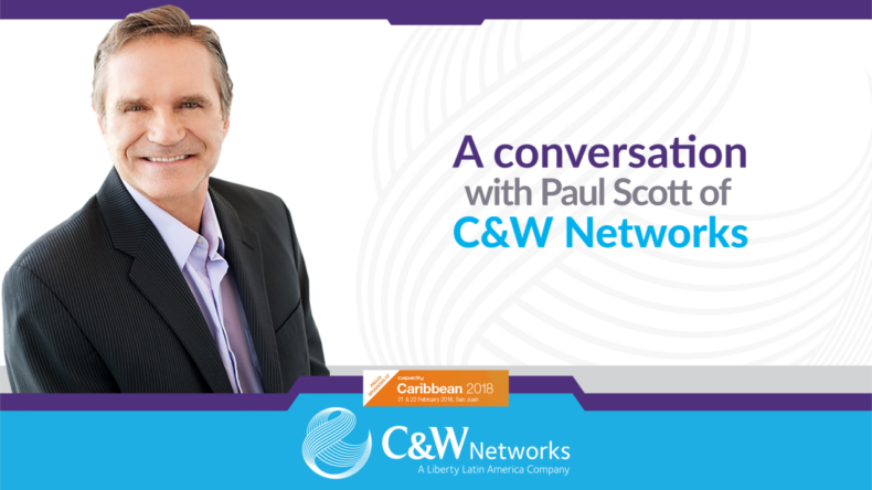 A CONVERSATION WITH PAUL SCOTT OF C&W NETWORKS